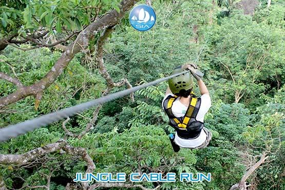 Jungle Cable Run